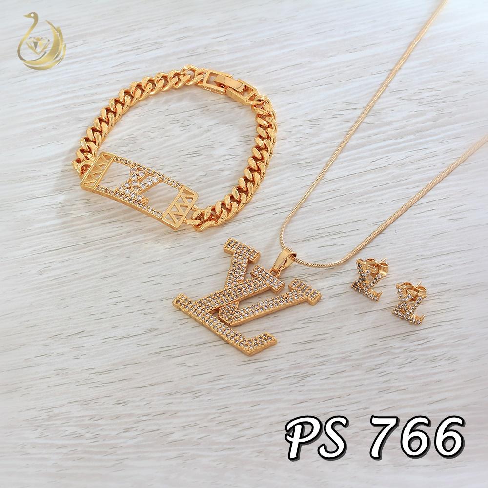 Set Perhiasan Hello Kitty Pusat 1 Batu Xuping Ps 766